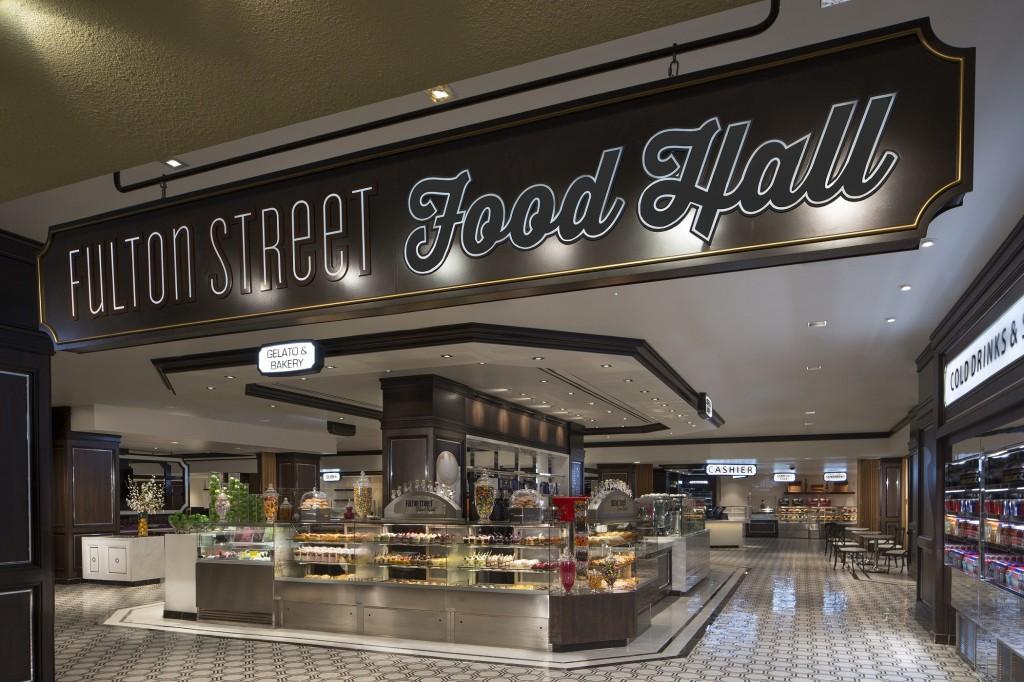 Fulton Street Food Hall at Harra's Las Vegas