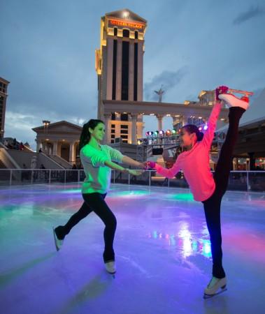 Caesars Chalet Ice Skating Rink