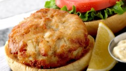 Phillips Seafood Crab Cake Sandwich