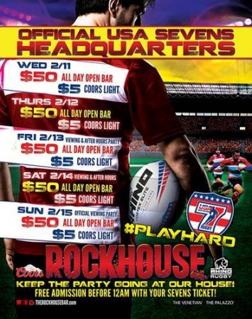 Rockhouse February  promotions