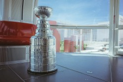 The Stanley Cup on High Roller