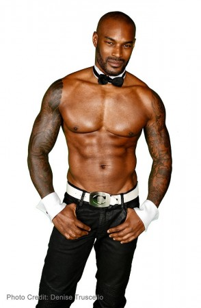 Tyson Beckford guest host at Chippendales