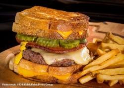 Mr. Lucky's The Ainsworth Shaka Doobie Burger