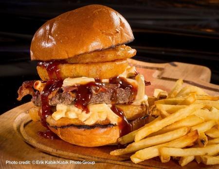 Mr. Lucky's The Ainsworth Sloppy South Burger