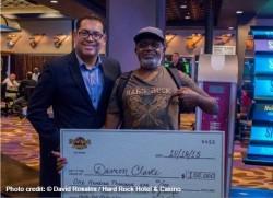 Hard Rock Hotel Giveaway winner