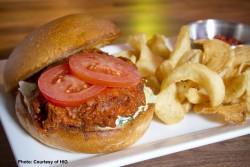 Pete Rose Buffalo Chicken Sandwich