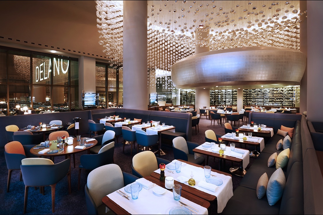Experience Stunning Strip Views In Chic Casual Atmosphere