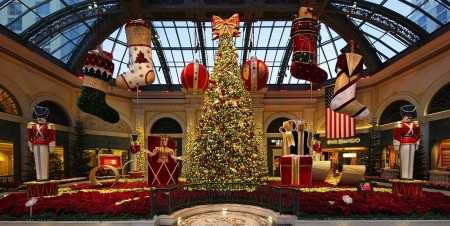 Enjoy The Winter at Bellagio's Conservatory & Botanical Gardens Now Through January 2