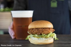 Shake Shack Chicken Burger