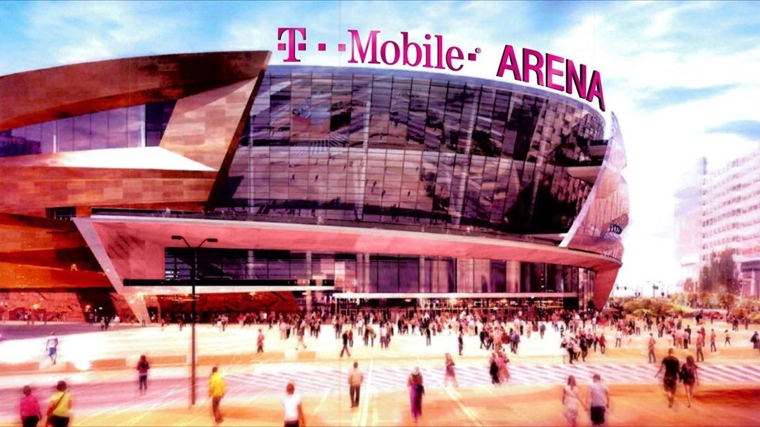 las vegas newest entertainment venue named t mobile arena