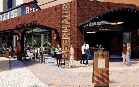 The Park's Beerhaus Rendering