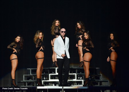 Pitbull Time of Our Lives Las Vegas