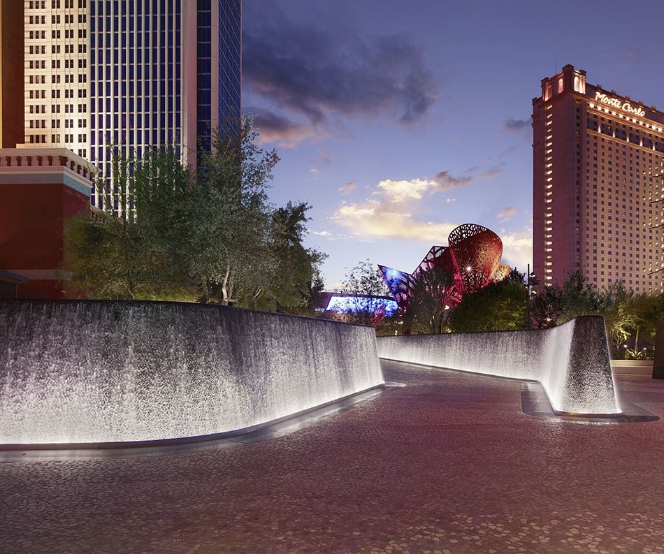 The first park on the las vegas strip debuts for Dining at at t park