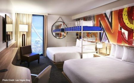 Bunk Bed Room at The LINQ