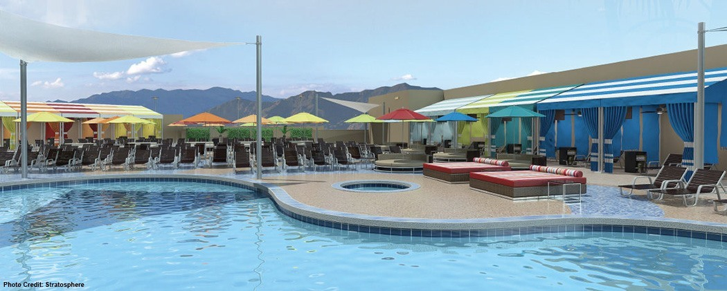 Remodeled Elation Pool Unveiled At Stratosphere Las Vegas