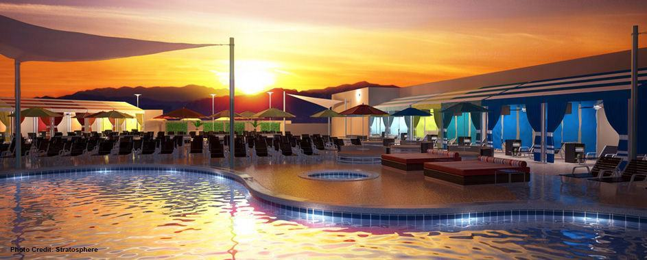 stratosphere hotel & casino pool