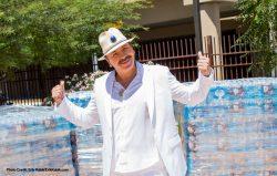 Carlos Santana at Las Vegas Rescue Mission