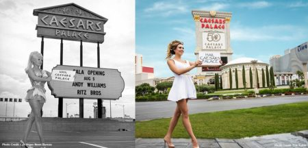 Caesars Palace Then and Now