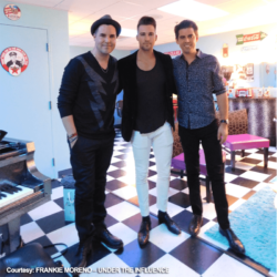 James Maslow and Tony DeSare at Frankie Moreno - Under The Influence