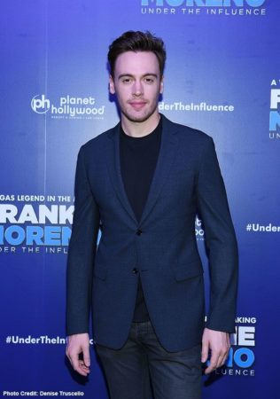 Erich Bergen at Frankie Moreno Under The Influence