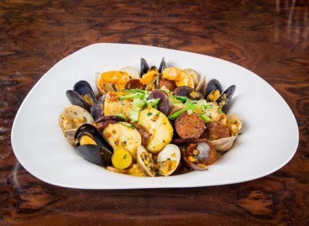 Nove Italiano at Palms Fregola seafood