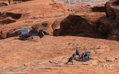 Heliyoga Experience Maverick Helicopters