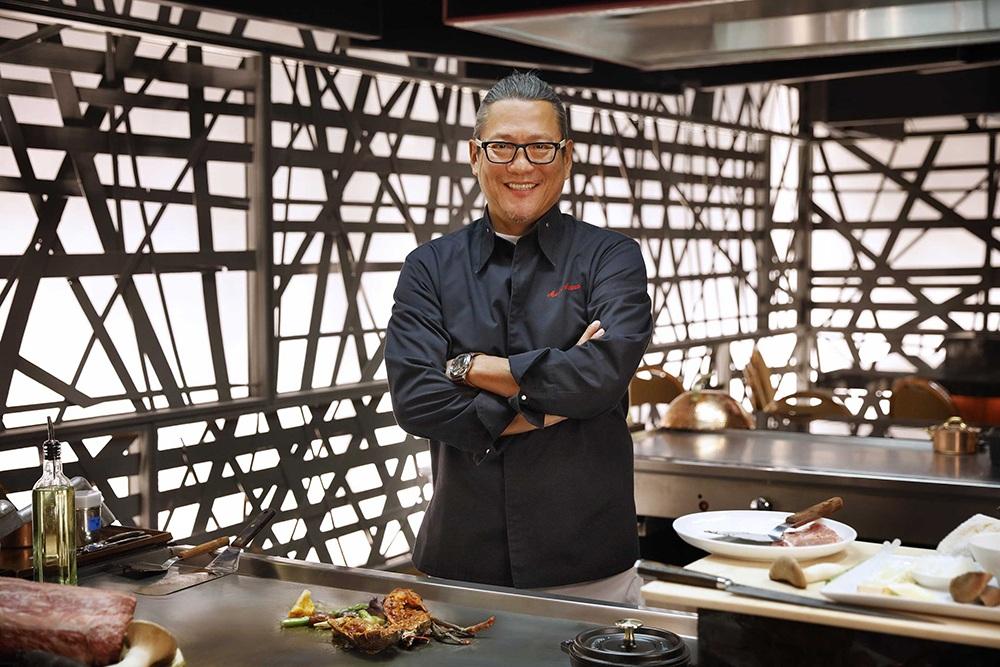 Mgm Grand Debuts Iron Chef Masaharu Morimoto S First Las