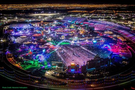 Maverick Helicopters Offers VIP Flight Transfers To Electric Daisy Carnival For Las Vegas Guest to Upgrade Their Festival Experience