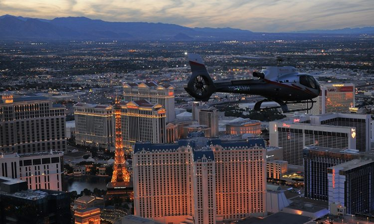 Maverick Helicopters Vegas Nights Tour