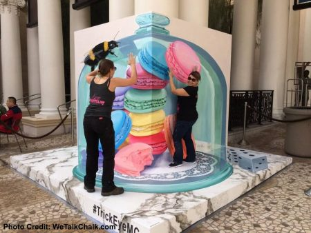"""Monte Carlo's New 3-D """"Trick Eye Experience"""