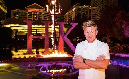 "Hell's Kitchen"" Restaurant By Chef Gordon Ramsay"