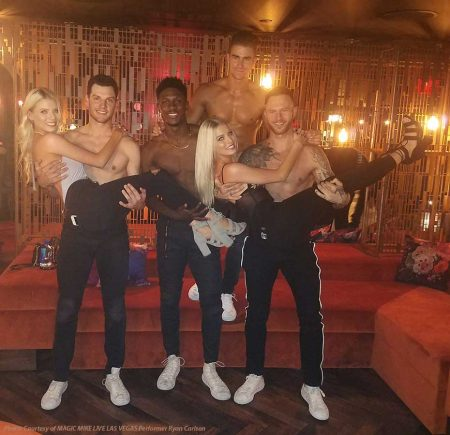Reality Stars Haley and Emily Ferguson Attends Magic Mike Live! Las Vegas