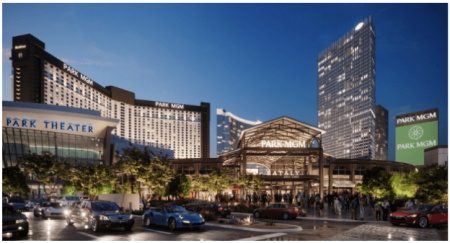 New Park MGM in Las Vegas