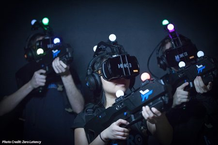 First Free-Roam Virtual Reality Arena In Las Vegas