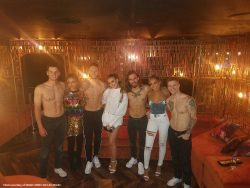 Little Mix Attends Magic Mike Live!