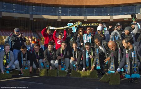 Lights FC Begins With Laying Of Turf