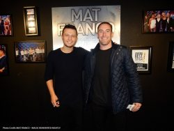 Vegas Golden Knights Player Brad Hunt Spotted At Mat Franco-Magic Reinvented Night