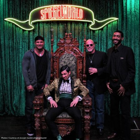 Jose Canseco, Jim McMahon and Jimmy King Spotted At ABSINTHE