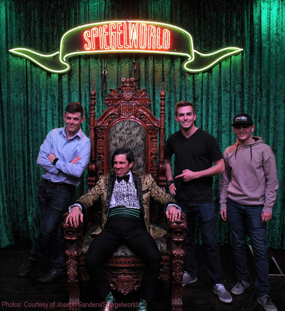 Spencer Gallagher, Justin Haley and Dalton Sargeant Spotted At ABSINTHE