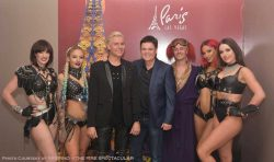 Las Vegas Headliner Donny Osmond Spotted At INFERNO - The Fire Spectacular