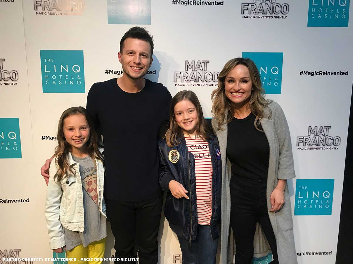 Giada De Laurentiis Spotted At Mat Franco Magic Reinvented Nightly