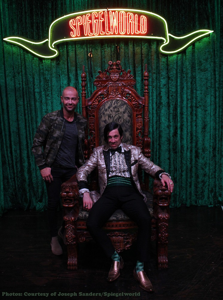 Actor Joey Lawrence  Spotted At ABSINTHE