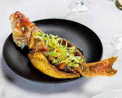 Michael Mina Bellagio Reopens With Global Seafood Experience