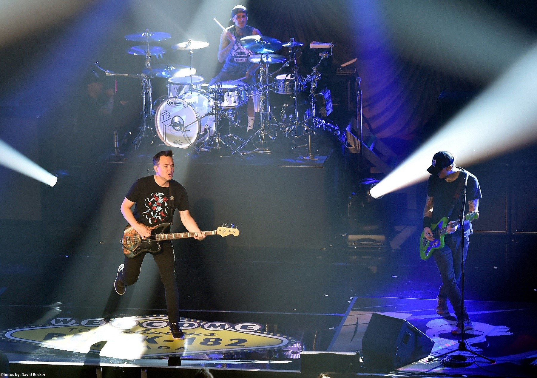 blink-182 kick off Vegas residency