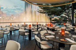 Wolfgang Puck Debuts Spago Overlooking Bellagio Fountains